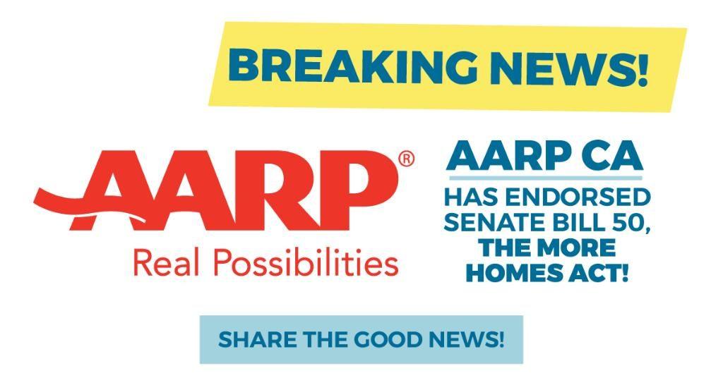 AARP endorses SB 50